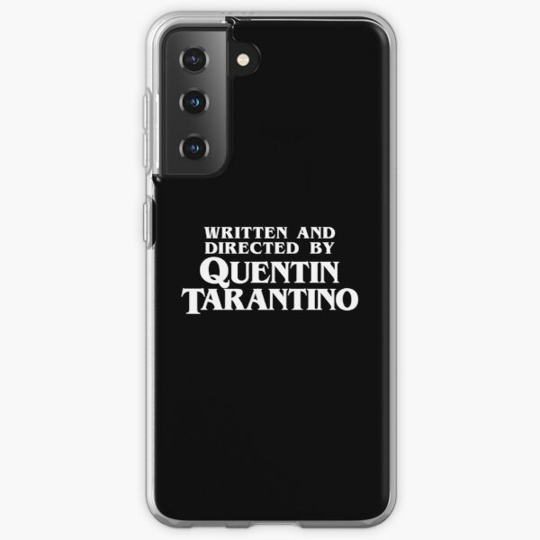 Written and Directed by Quentin Tarantino Samsung Galaxy Soft Case