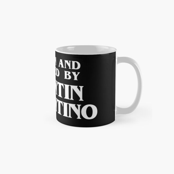 Written and Directed by Quentin Tarantino Classic Mug