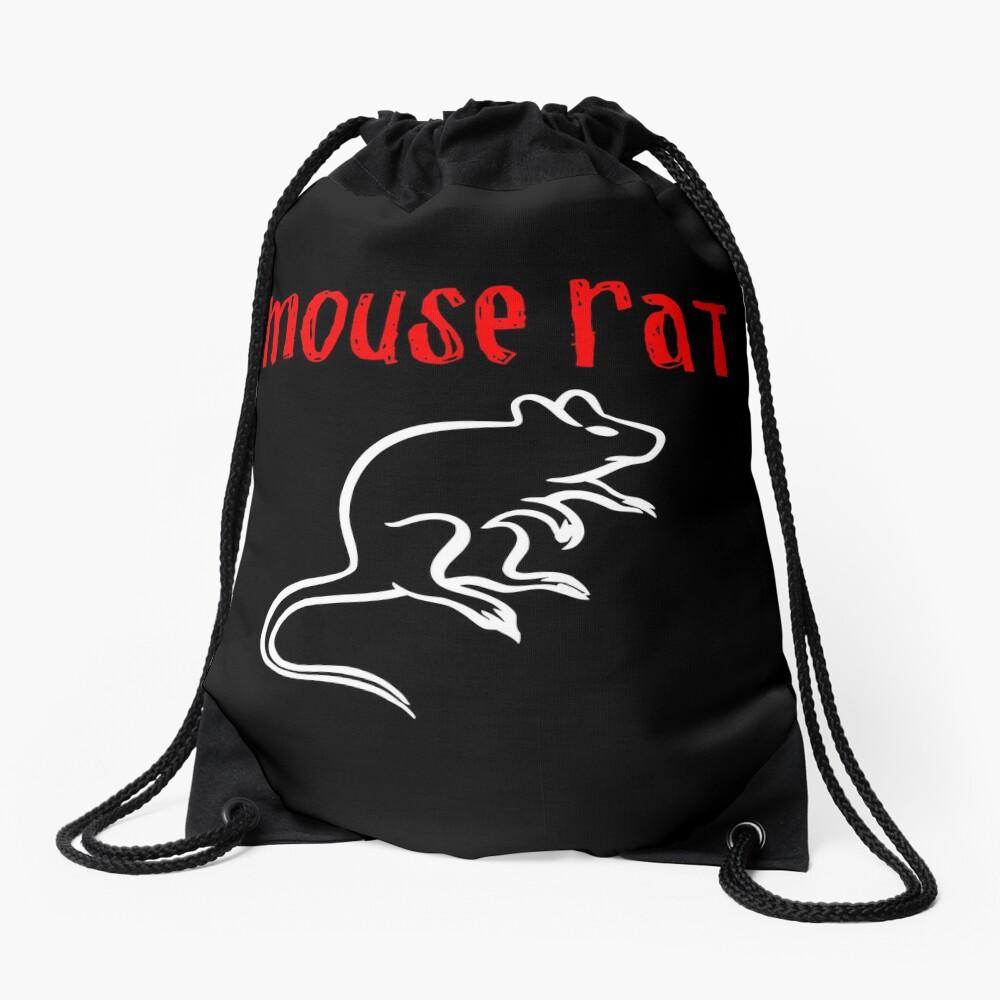 Mouse Rat Drawstring Bag