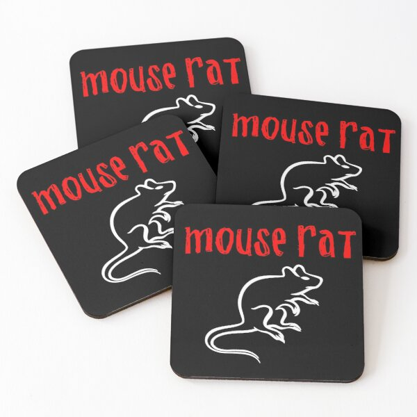 Mouse Rat Coasters (Set of 4)
