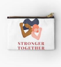 Stronger Together Zipper Pouch