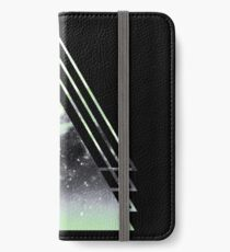 Agender Pride Layered Galaxy Triangles iPhone Wallet/Case/Skin