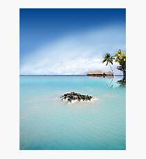 Blue Lagoon Photographic Print