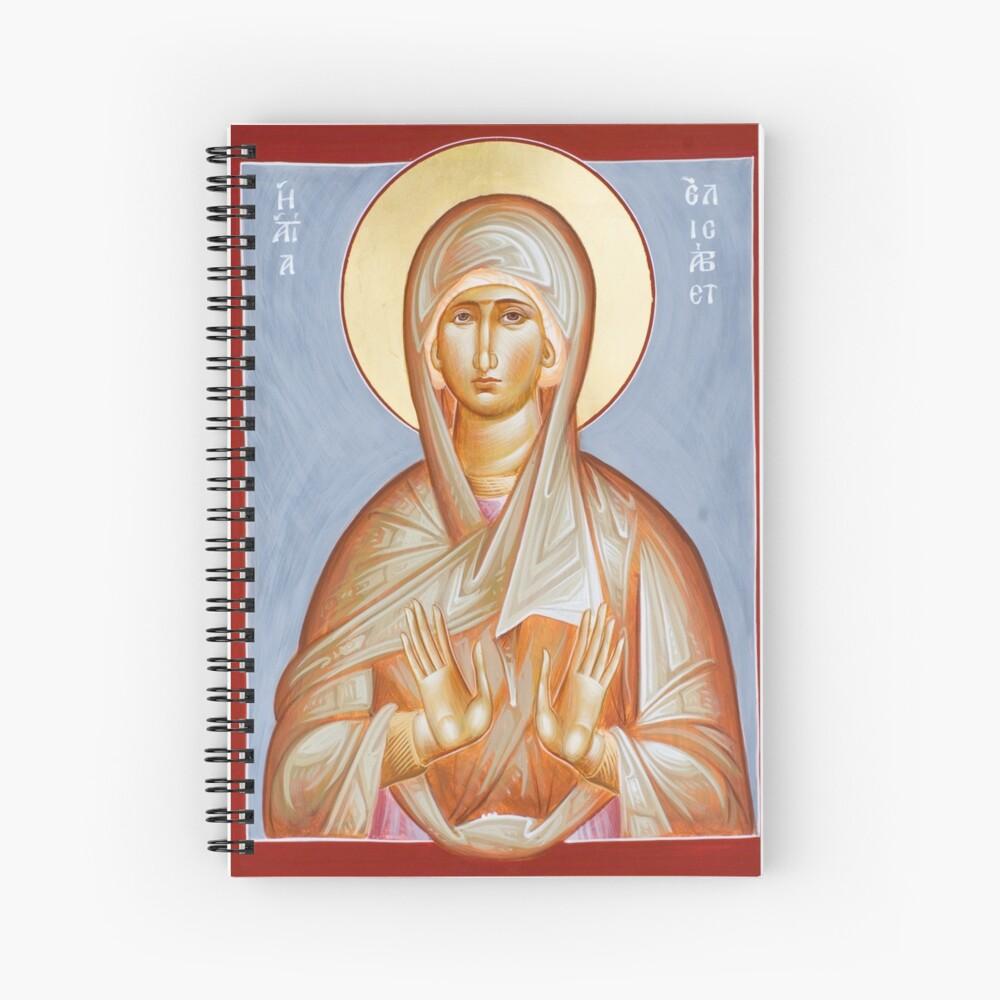 St Elizabeth Spiral Notebook