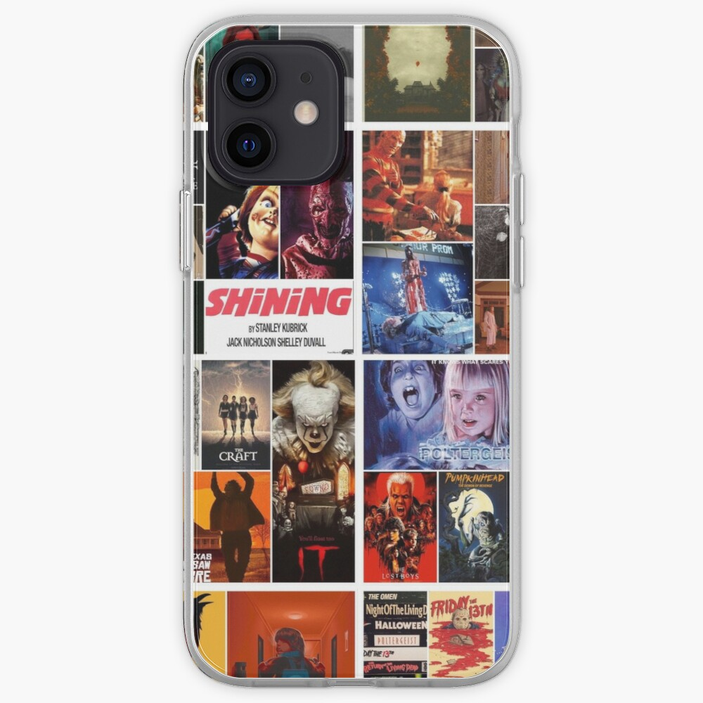 Horror collage iPhone Case & Cover