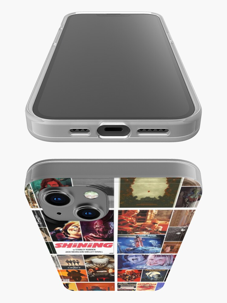 Alternate view of Horror collage iPhone Case