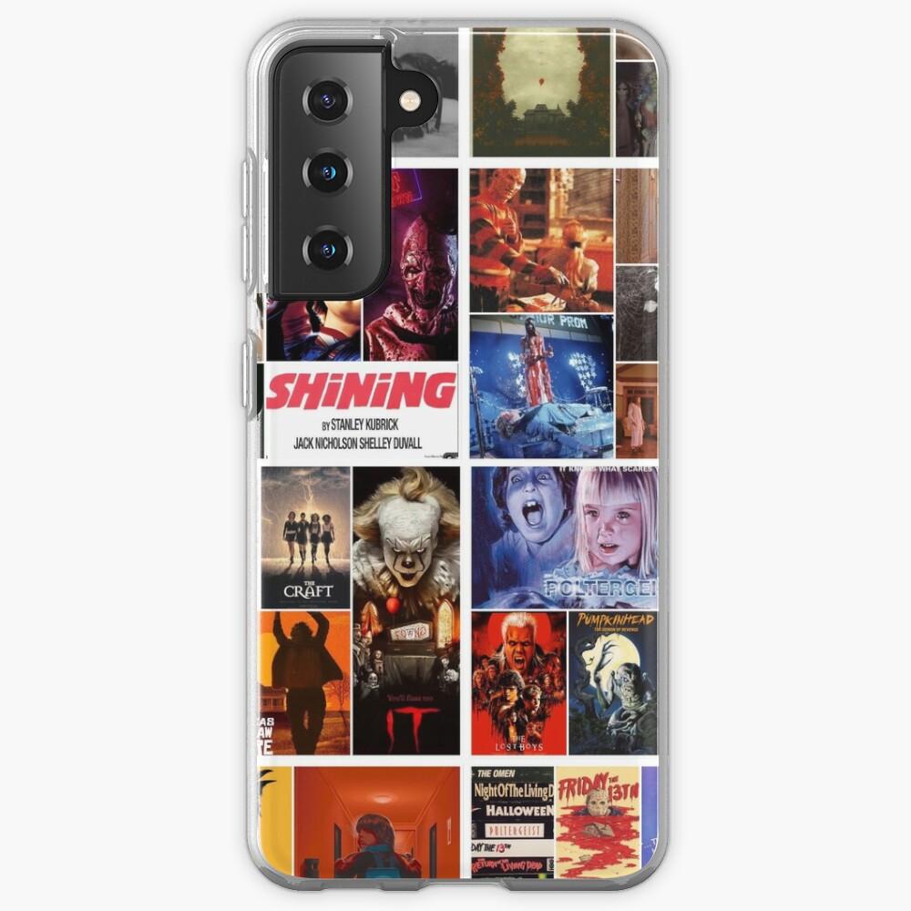 Horror collage Case & Skin for Samsung Galaxy