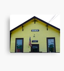 Essex Railroad Station, Valley Railroad, Connecticut - USA Canvas Print