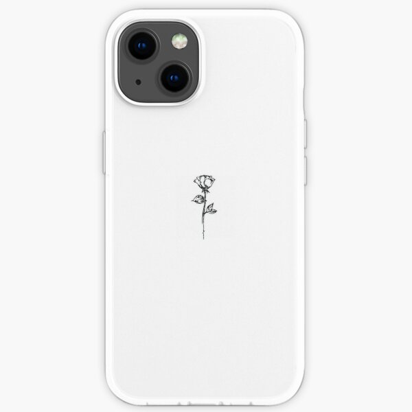 aesthetic rose  iPhone Soft Case