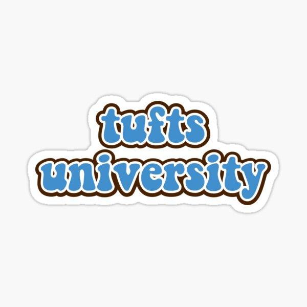 tufts university logo Sticker