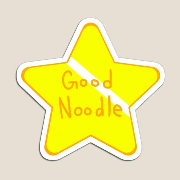 1 Big Good Noodle Award Star Spongebob  Magnet