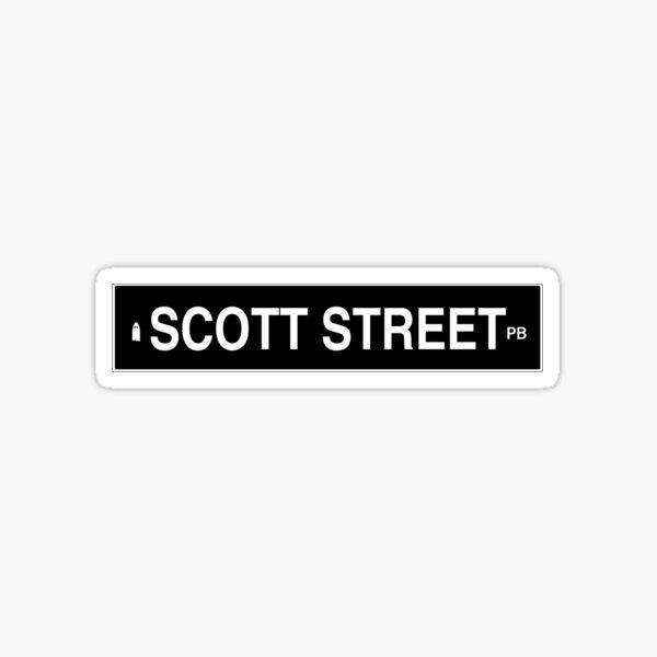 SCOTT STREET PHOEBE BRIDGERS Sticker