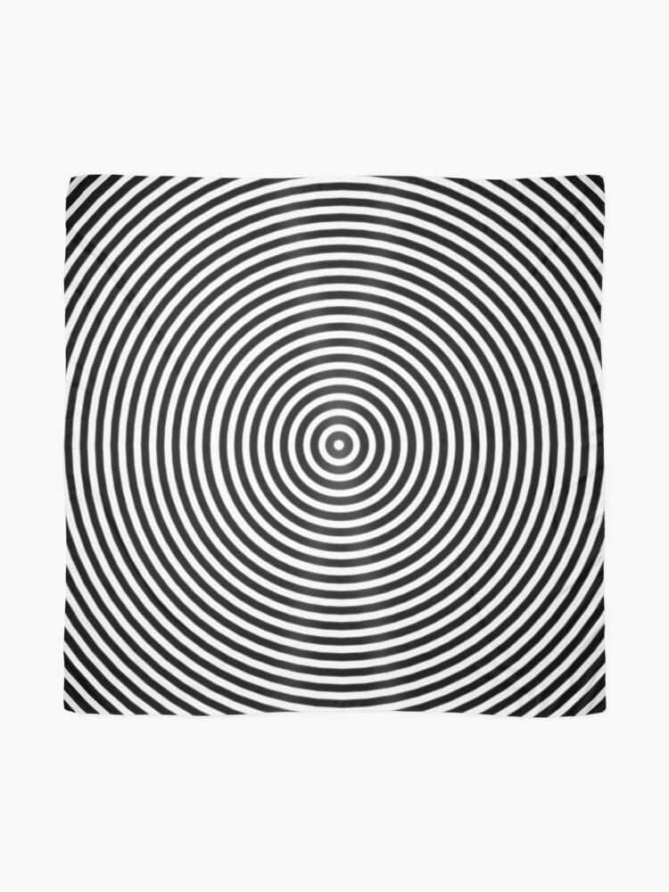 Alternate view of Amazing optical illusion Scarf