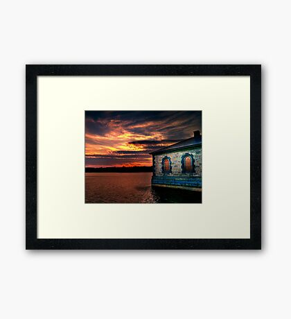Lovely Night  Framed Print