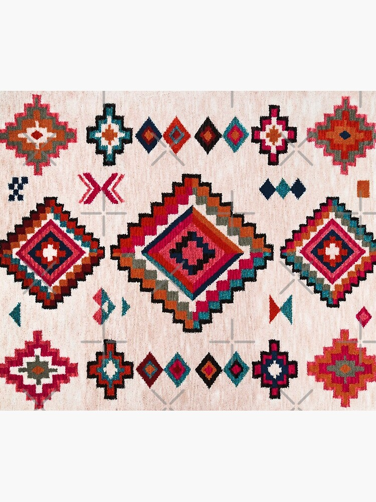 Bohemian Traditional Moroccan Colored Artwork by Arteresting