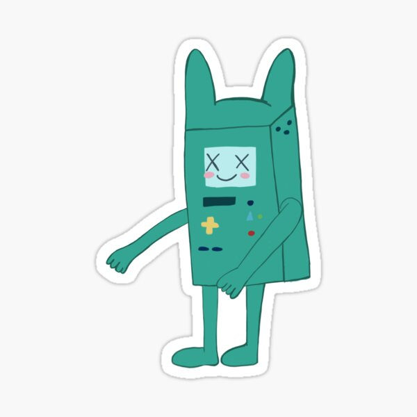 Adventure time bmo bunny Sticker