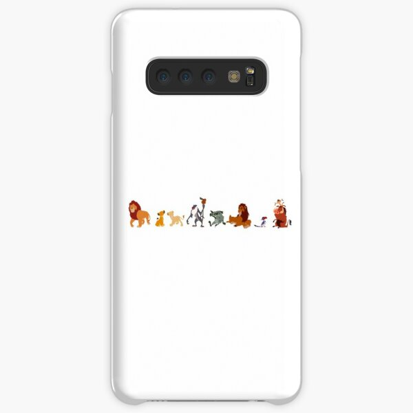 The Lion King Character Illustration  Samsung Galaxy Snap Case