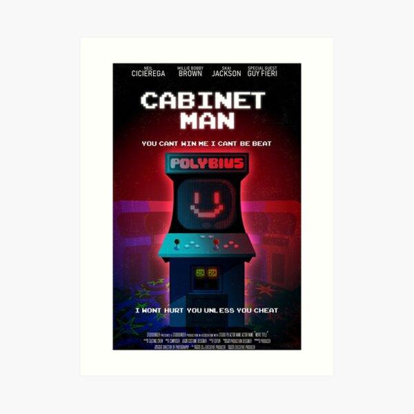 Cabinet Man Art Print