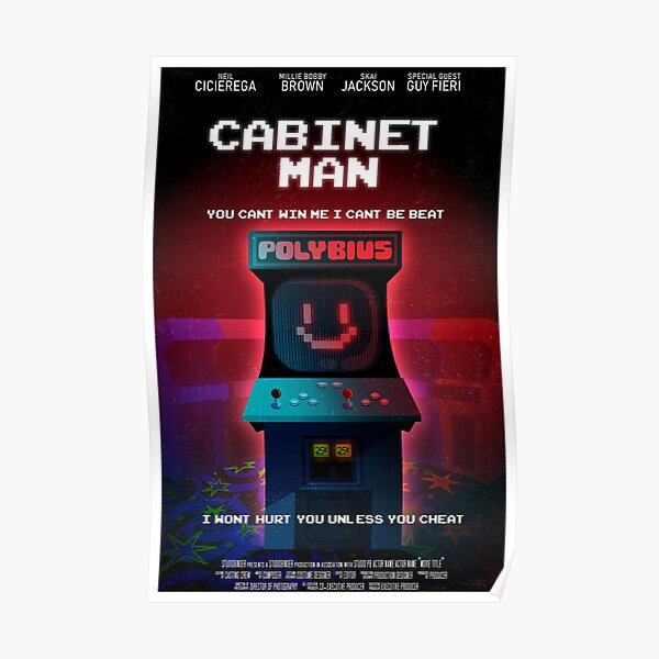 Cabinet Man Poster