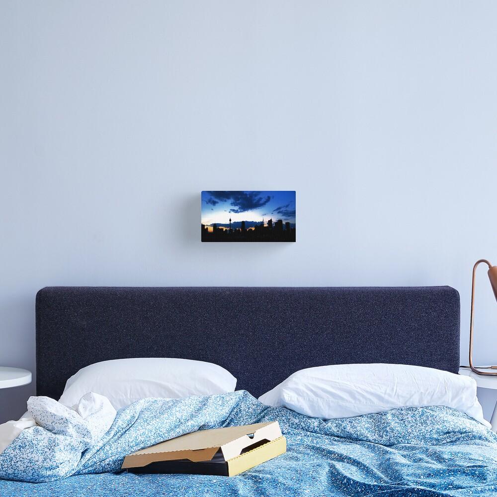 Blue Sydney Sunset Canvas Print