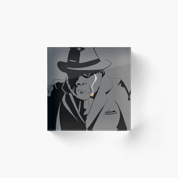 Gorilla Gangster clear space Acrylic Block
