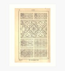 A Handbook Of Ornament With Three Hundred Plates Franz Sales Meyer 1896 0154 Bands Interlacement Art Print