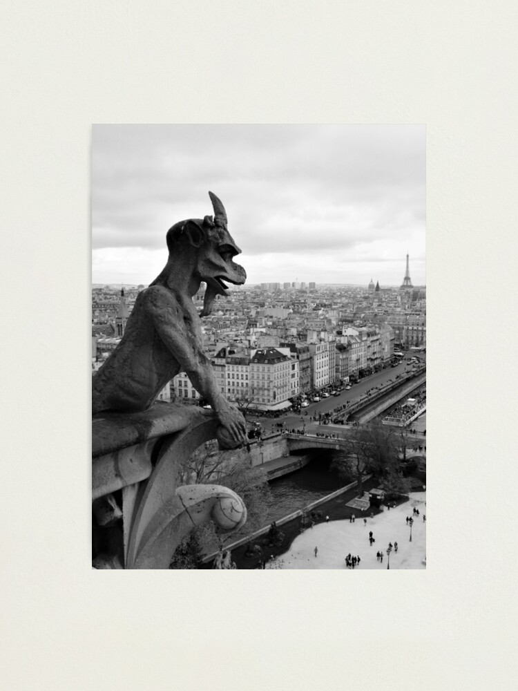 Alternate view of Gargoyle of Paris Photographic Print