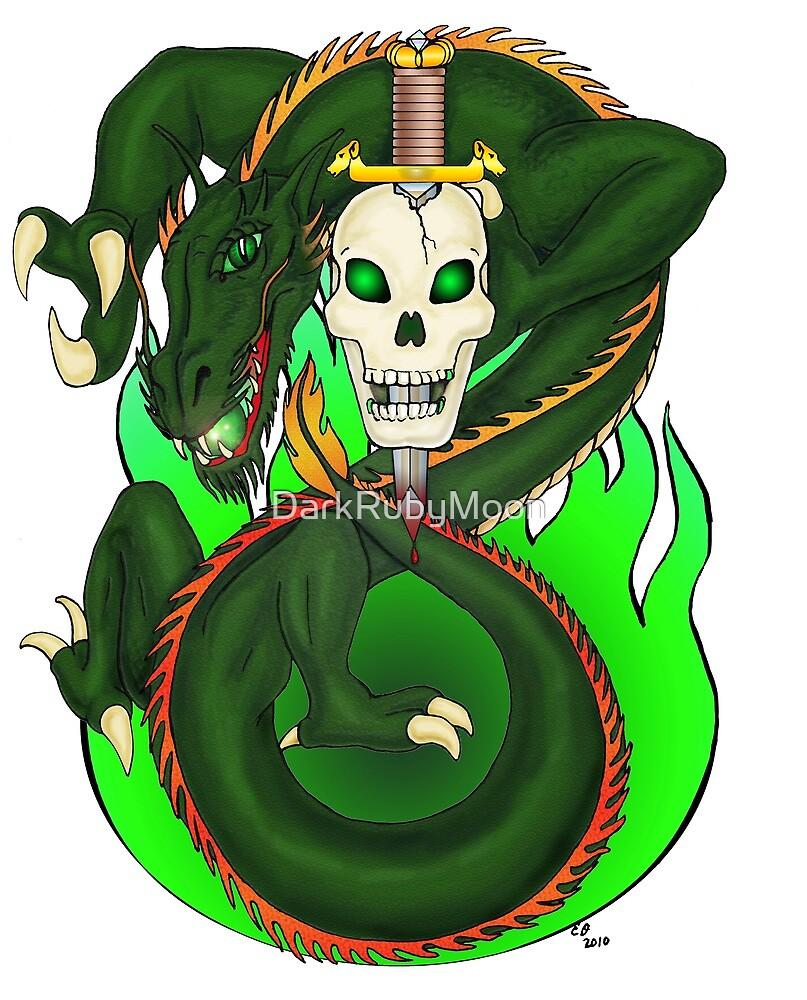 Dragon Sword by DarkRubyMoon