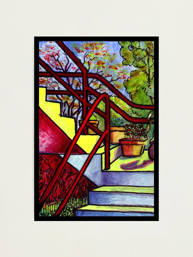 Alternate view of Stairway To Evan's Photographic Print