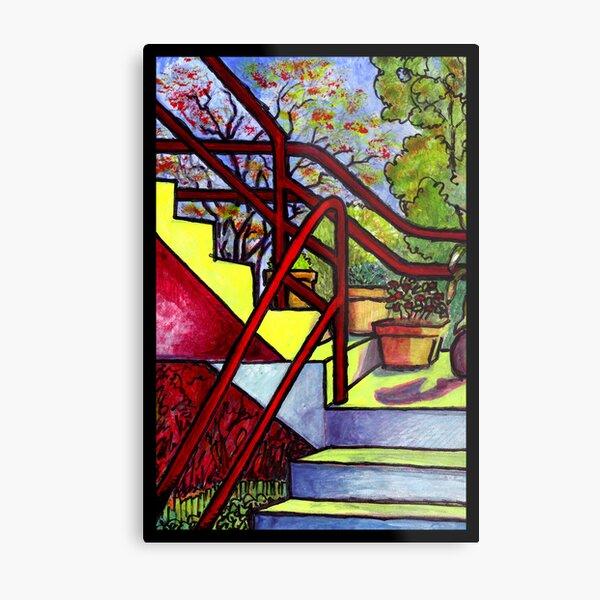 Stairway To Evan's Metal Print
