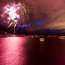 Fireworks over Lake Dillon by Josh Dayton