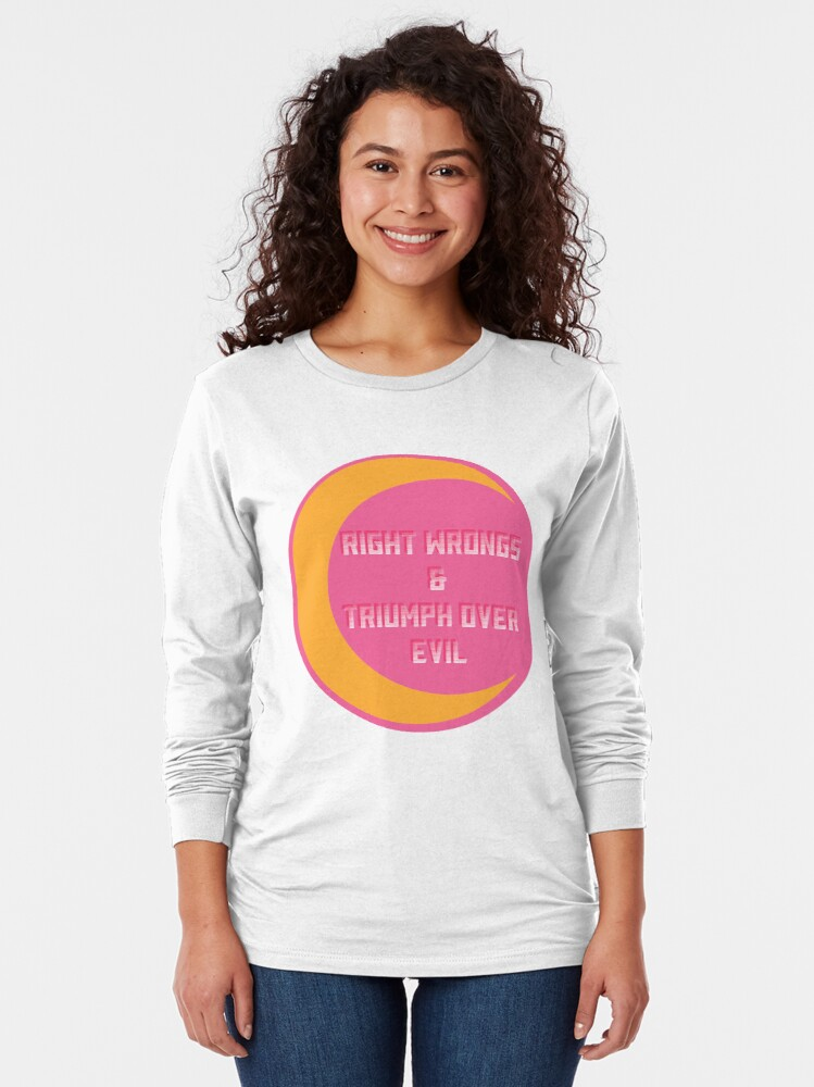 Alternate view of A Very Good Motto Long Sleeve T-Shirt