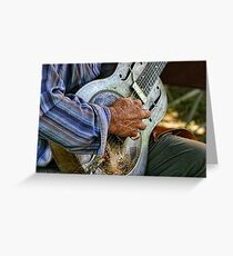 """"""" Song Sung Blue """" Greeting Card"""