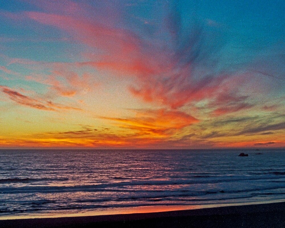 Pacific Sunset by Bryan D. Spellman
