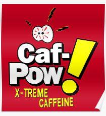 Vintage-Fernseher - Caf Pow Poster