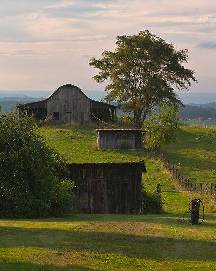 Virginia Barns by Jean-Pierre Ducondi