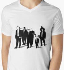 Reserone Piece Men's V-Neck T-Shirt