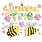 «Horas de verano lindos abejorros» de Anna Syroed