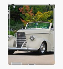 1938 Oldsmobile 8 Convertible Coupe  iPad Case/Skin