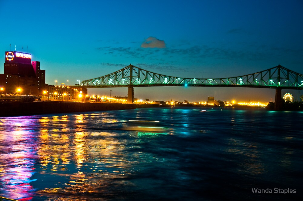 Jacques Cartier Bridge by Wanda Staples