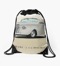 1938 Oldsmobile 8 Convertible Coupe 'Studio' with ID Drawstring Bag