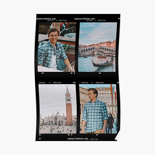 Tom Holland/Peter Parker x Venice Kodak Poster