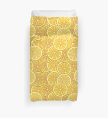 Orange Slices Background 2 Duvet Cover