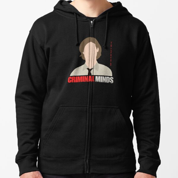 Criminal Minds - Dr. Spencer Reid Zipped Hoodie