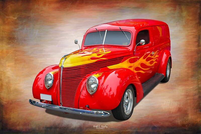 'Hot Delivery' by Hawley Designs