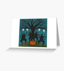 Halloween Celebration 2010 Greeting Card