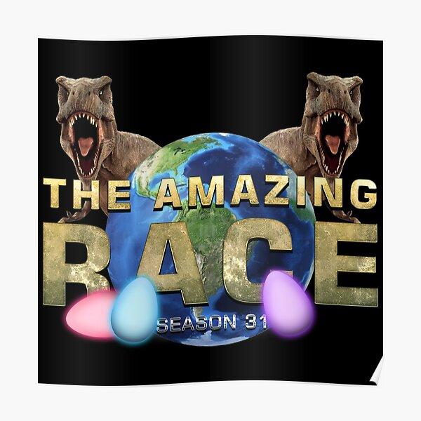 The Amazing Race T-Rex Egg Race Season 31 Poster