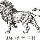 lehne dich an meinen Stolz, ich bin ein Löwe | schneide meine Lippe von yourlocalltyler
