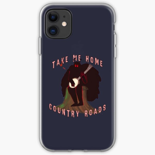 Mothman, Country Roads (but like he has a Banjo) iPhone Soft Case