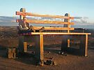 The Big Chair... Broken Hill by Juilee  Pryor